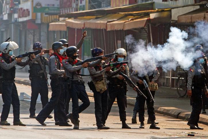 LHQ lên án quân đội Myanmar trong vụ trấn áp biểu tình