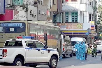 TP.HCM phong tỏa 1 khách sạn do 35 người Trung Quốc nghi nhập cảnh trái phép đang ở