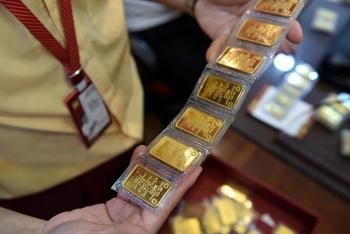 Giá vàng hồi phục, áp sát mốc 55,4 triệu đồng/lượng