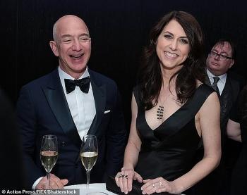 Vợ cũ tỷ phú Jeff Bezos tái hôn