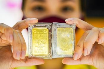 Giá vàng tăng chóng mặt, lại vượt 56,5 triệu đồng/lượng