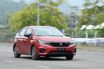 Honda City nhận Giải thưởng xe hạng B được yêu thích nhất năm 2021