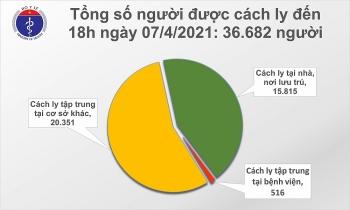 Chiều 7/4 có thêm 11 ca mắc mới COVID-19 là người nhập cảnh