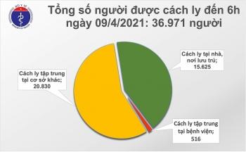 Sáng 9/4, có thêm 1 ca mắc mới COVID-19 tại Bắc Ninh