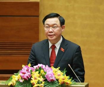 Ông Vương Đình Huệ được bầu giữ chức Chủ tịch Quốc hội khóa XV