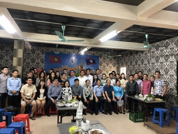 Nhiều nét độc đáo trong lễ đón Tết Bunpimay 2021 của lưu học sinh Lào