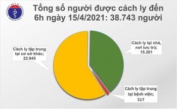 Việt Nam thêm 4 ca mắc mới COVID-19 là người nhập cảnh