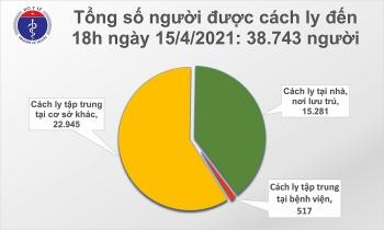 Thêm 21 ca mắc COVID-19 là người nhập cảnh tại TP.HCM và nhiều nơi khác