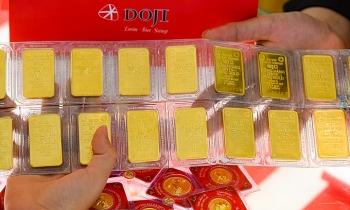 Giá vàng sắp chạm mốc 57,5 triệu đồng