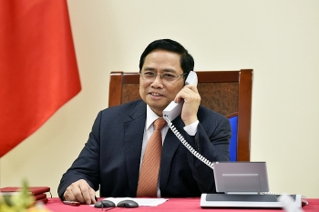 Thủ tướng Phạm Minh Chính mong muốn thúc đẩy hơn nữa quan hệ Đối tác Chiến lược Việt Nam – Singapore trên tất cả các lĩnh vực