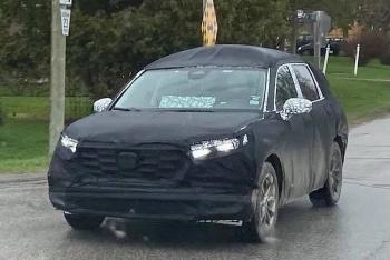 Honda CR-V thế hệ mới sắp ra mắt?