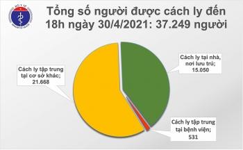 Chiều 30/4, thêm 14 ca mắc COVID-19, có 4 ca lây nhiễm trong cộng đồng
