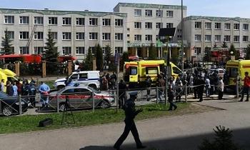 Xả súng trong trường học Nga khiến ít nhất 11 người thiệt mạng