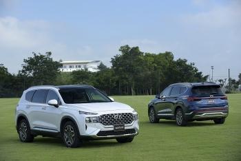 Hyundai Santa Fe 2021 ra mắt khách Việt, giá cao nhất tới hơn 1,3 tỷ đồng