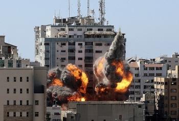 Israe phá 'tan' nhà thủ lĩnh Hamas tại Dải Gaza