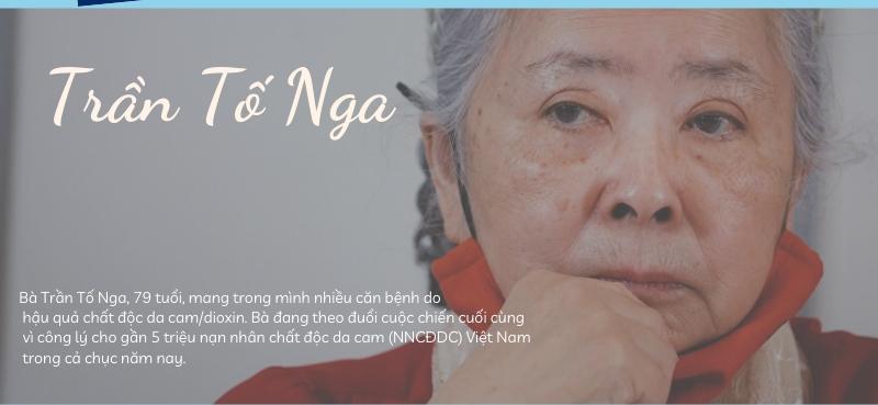 Infographic: Hành trình đòi công lý cho nạn nhân chất độc da cam của bà Trần Tố Nga