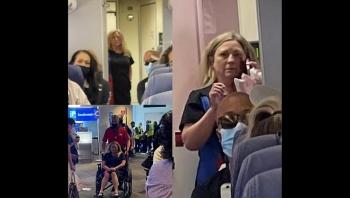 Tiếp viên hàng không bị khách đánh gãy răng