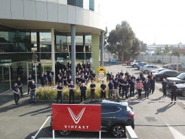 VinFast khai trương văn phòng tại Australia, hiện thực mục tiêu vươn ra quốc tế