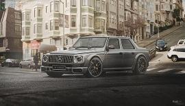 Mercedes G-Class có thể có thêm bản Sedan đắt tiền?