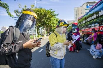 Đưa hơn 700 người dân Quảng Ngãi mắc kẹt ở Đà Nẵng về nhà