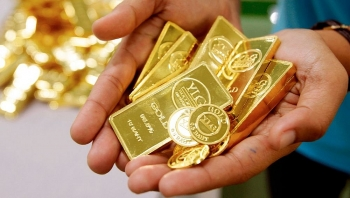 Giá vàng đảo chiều đi lên sau 6 phiên giảm liên tiếp