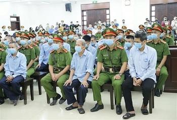 Xét xử vụ án tại Đồng Tâm: 4 bị cáo thừa nhận hành vi phạm tội