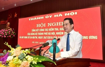Hà Nội kỷ luật 4.000 Đảng viên, gồm 5 Thành uỷ viên