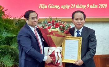 Bộ Chính trị chuẩn y ông Lê Tiến Châu giữ chức danh Bí thư Tỉnh ủy Hậu Giang