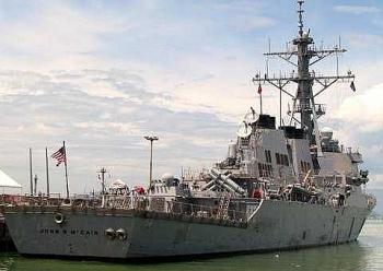 Tàu chiến Mỹ đi qua Biển Đông khiến Trung Quốc tức giận