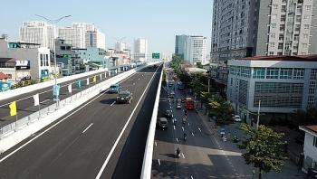 Chính thức thông xe đường trên cao Mai Dịch - Nam Thăng Long