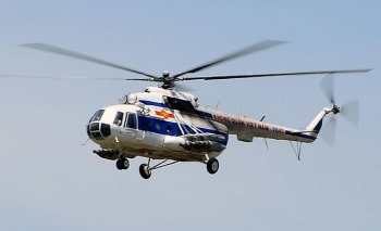 Điều trực thăng và xe bọc thép vào thuỷ điện Rào Trăng 3