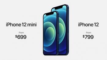 iPhone 12 mini có màn hình 5,4 inch, giá 699 USD