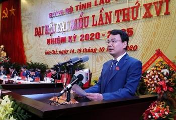 Tân Bí thư Tỉnh ủy Lào Cai là ai?