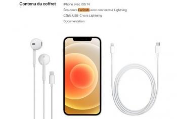 iPhone 12 chỉ được bán kèm tai nghe duy nhất ở Pháp