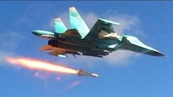 Nga không kích dữ dội IS trên khắp miền Trung Syria