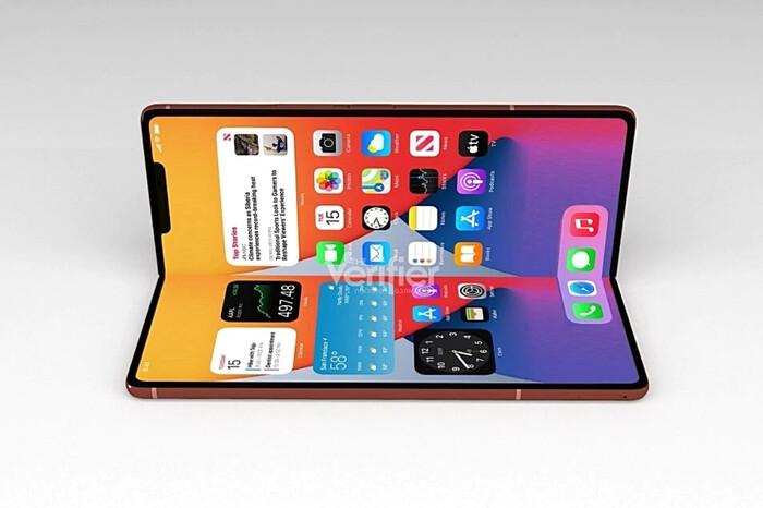 iPhone màn hình gập chạy hệ điều hành iPadOS ra mắt vào năm 2022