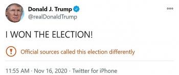 Ông Trump tuyên bố: