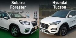 Crossover tầm giá dưới 1 tỷ: Mua Hyundai Tucson hay Subaru Forester?