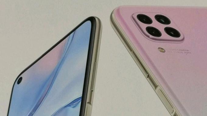 lo dien huawei nova 6 se hinh thuc kha giong iphone 11 pro