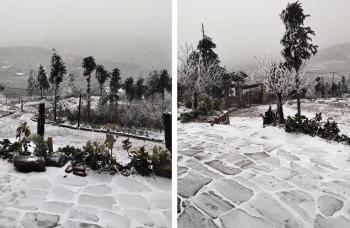 Nhiệt độ giảm sâu, Y Tý tuyết rơi trắng xóa