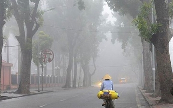 Thời tiết ngày mai 22/1: Bắc Bộ và Trung Bộ mưa nhiều nơi