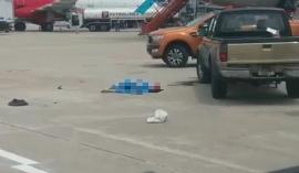 Tin tức tai nạn giao thông chiều 6/7: Nhân viên vệ sinh bị xe bán tải VAECO đâm tử vong tại sân bay Nội Bài
