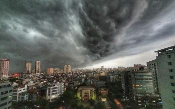 Dự báo thời tiết chiều tối hômnay và ngày mai (29/7): Hà Nội đón mưa dông