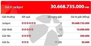 Kết quả Vietlott Mega 6/45 ngày 9/7: Gần 31 tỷ chờ chủ nhân