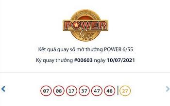 Kết quả Vietlott Power 6/55 ngày 13/7: Tìm chủ nhân cho giải thưởng 32 tỉ