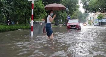 Bản tin thời tiết ngày 19/8: Mưa dông tăng cấp, Bắc Bộ nhiều vùng ngập lụt