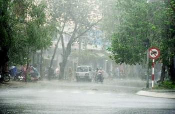 Bản tin dự báo thời tiết 23/8: Mưa dông xuất hiện trên cả nước