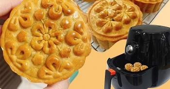 Cách làm bánh trung thu bằng nồi chiên không dầu đơn giản nhất
