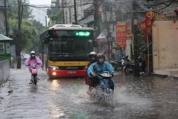 Bản tin dự báo thời tiết 8/9: Mưa lớn kéo dài, Bắc Bộ cảnh báo ngập lụt nhiều nơi