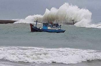 Tin áp thấp nhiệt đới: 24 giờ tới có khả năng mạnh lên thành bão số 4
